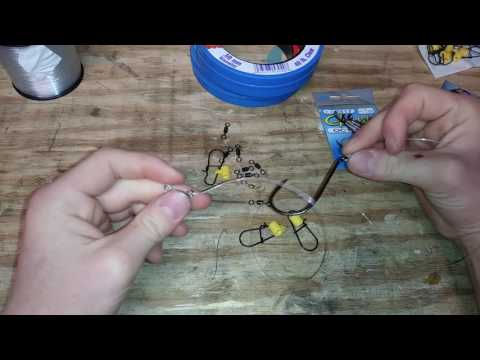 How To Tie The BEST Striper Fishing Rig!