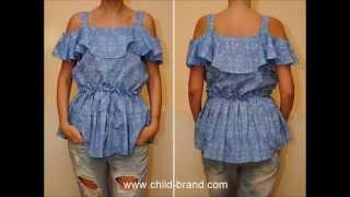 Модная женская блузка(Модная женская блузка ..., 2015-07-15T19:31:09.000Z)