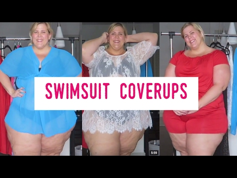 Plus Size Haul Week Spring 2017 | Dresses, Swim Suit Cover Ups, Bikini Try On