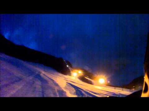 ニヤマ高原スキー場 ナイタースキー ちょいパウダー