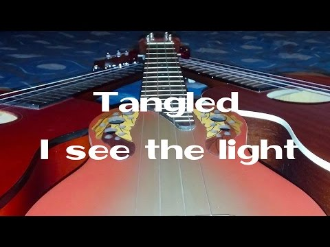 Tangled I See The Light Fingerstyle Ukulele 3rd Song Youtube