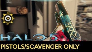 Halo 5: Guardians - Pistol + Scavenger Only Sprees