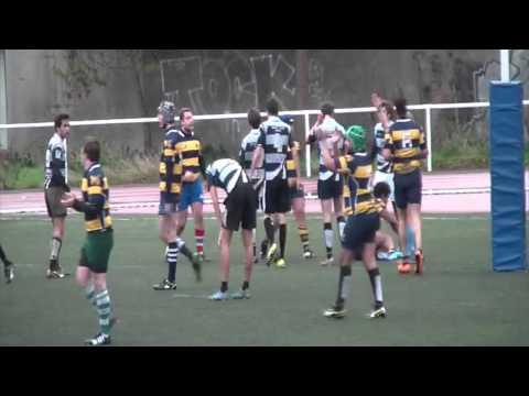 Rugby : Victoire de Paris-Sorbonne face à Paris Tech