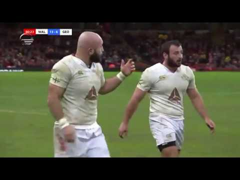 wales vs georgia rugby last 20 minutes