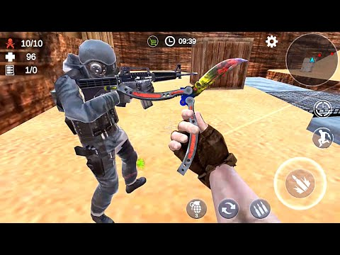Zombie 3D Gun Shooter- Real Survival Warfare - Android Game Gameplay Part 4 - Version 1.2.0