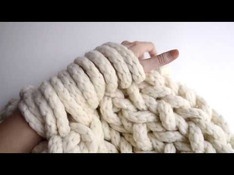 Arm Knitting | We Are Knitters