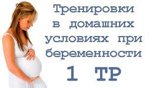 Тренировки в домашних условиях при беременности (1 тр)