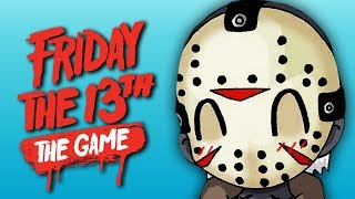 THE CHADTASTIC FOUR! | Friday The 13th: The Game (ft. Gorilla & Dracula)