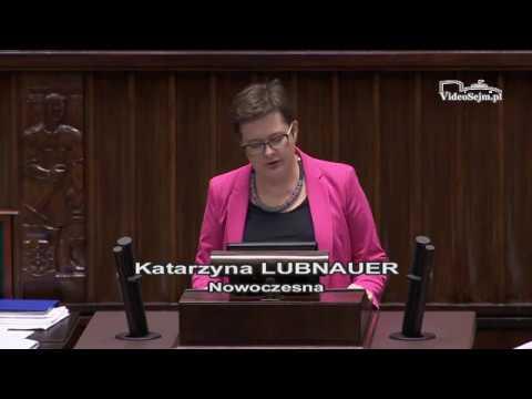 Katarzyna Lubnauer  – wystąpienie z 7 grudnia 2017 r.