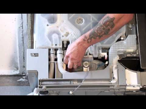 How To Replace A Dishwasher Drain Hose - Bosch