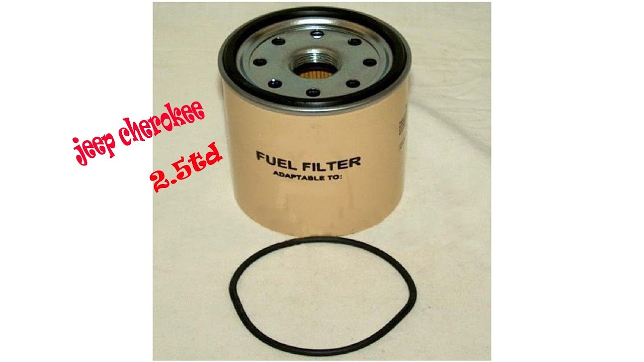 hight resolution of changement filtre a gazoil jeep cherokee 2 5 td