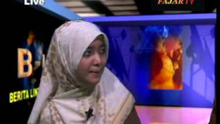 Fatim Mawaddah Live at TV Fajar Makassar, Indonesia