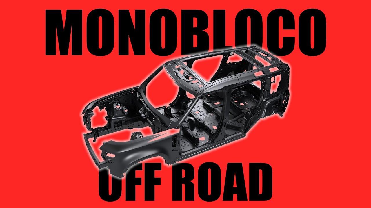 Monobloco no Off-Road