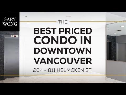 #204 811 Helmcken Street, Vancouver BC