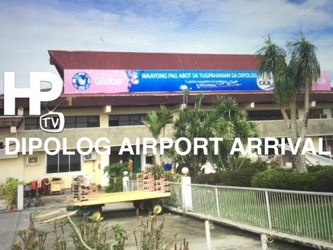 Dipolog Airport Arrival Lounge Zamboanga Del Norte  Philippines by HourPhilippines.com