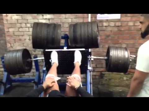 1000 kg 1 tonne leg press heaviest leg press ever peter youtube. Black Bedroom Furniture Sets. Home Design Ideas