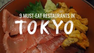 9 Must-Eat Restaurants in Tokyo, Japan (Watch This Before You Go)