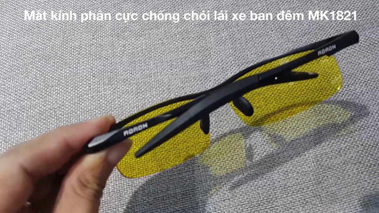 Mắt kính phân cực chống chói hỗ trợ lái xe ban đêm MK1821