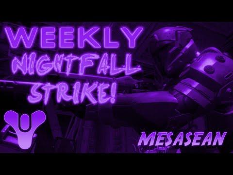 Destiny Weekly Night Fall Strike Velveeta Cheese Spot. Cerberus Vae III Heroic Strike also.