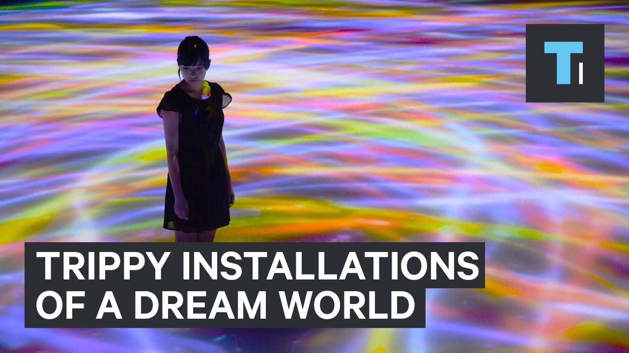 Trippy installations of a dream world