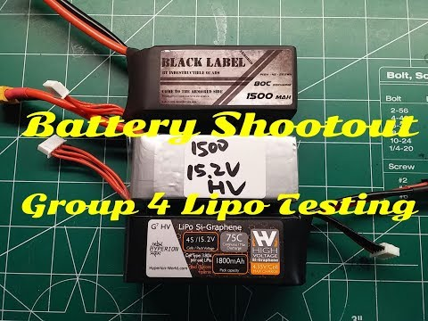 Group 4-80 Amp Continuous Current Lipo Testing & Shootout