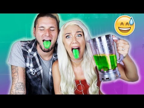 SOUREST DRINK IN THE WORLD CHALLENGE!!! (TOUNGE DAMAGE) | NICOLE SKYES