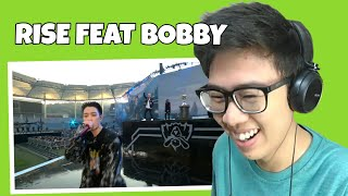 RISE OPENING CEREMONY FEAT BOBBY IKON REACTION