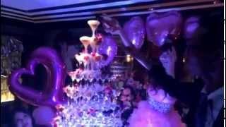 六本木人気No.1キャバクラ 人気キャバ嬢rinaさん BIRTHDAYイベントでシ...