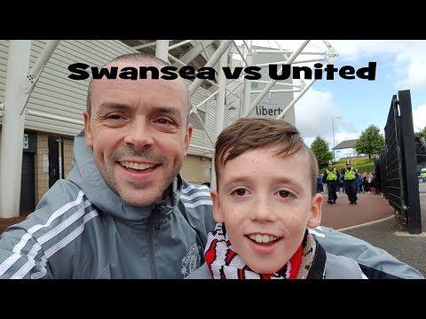 Swansea v Man United VLOG