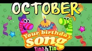 Tina&Tin Happy Birthday OCTOBER