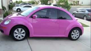 What's in my PINK Car?!?!