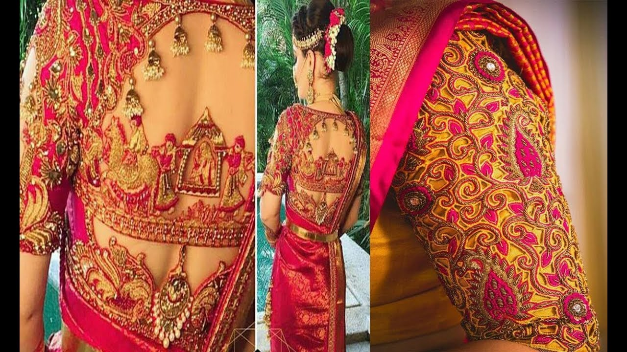 Top Latest Heavy Cut Work Blouse Designs Blouse Designs For Silk