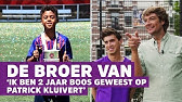 De broer van Shane Kluivert: 'Ik heb niks met voetbal' | De Broer Van #1
