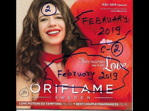 Oriflame February 2019 Catalog Quick || Full Coming soon Stay Tuned