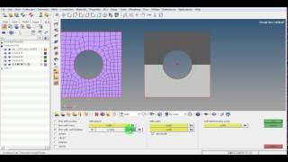 HyperMesh | Ruled mesh | 2D mesh | Temp nodes | Elements | Quad | Tria | GRS |