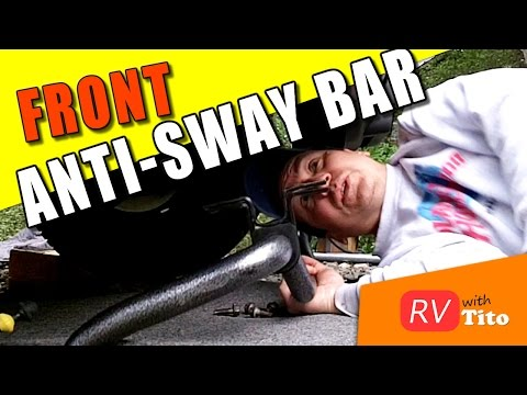 Front Anti-Sway Bar Install on RV