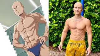 Superhero Workout. One Punch Man in real life