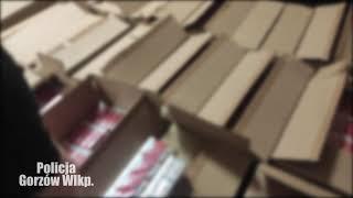Gorzów: Zatrzymany z transportem nielegalnych papierosów