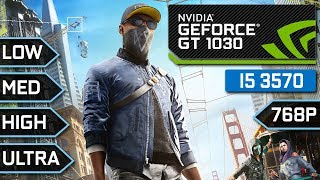 Watch Dogs 2 [PC] - I5 3570 + GT 1030