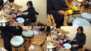 Multitrack Percussion Quartet - Mood