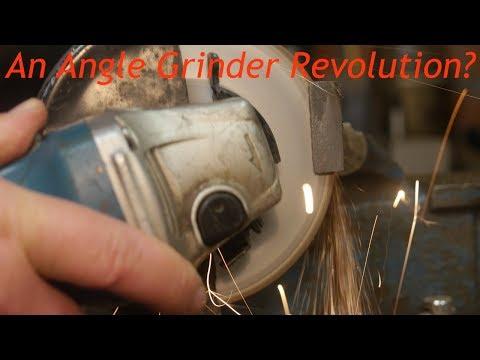 Is the Graff Black disk an angle grinder revolution?