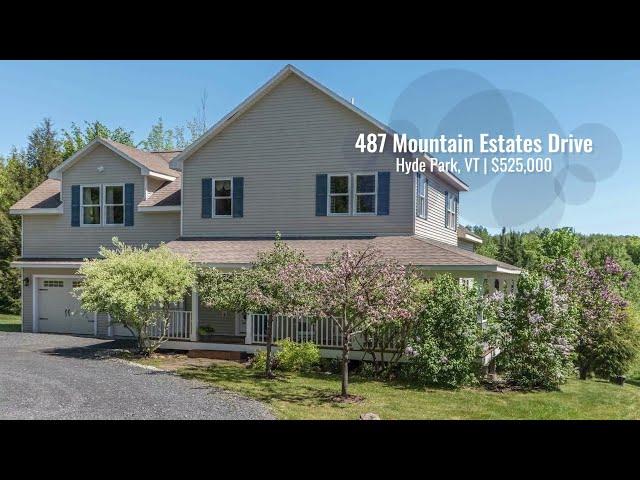 487 Mountain Estates Drive, Hyde Park VT | The Bateman Group Realtors