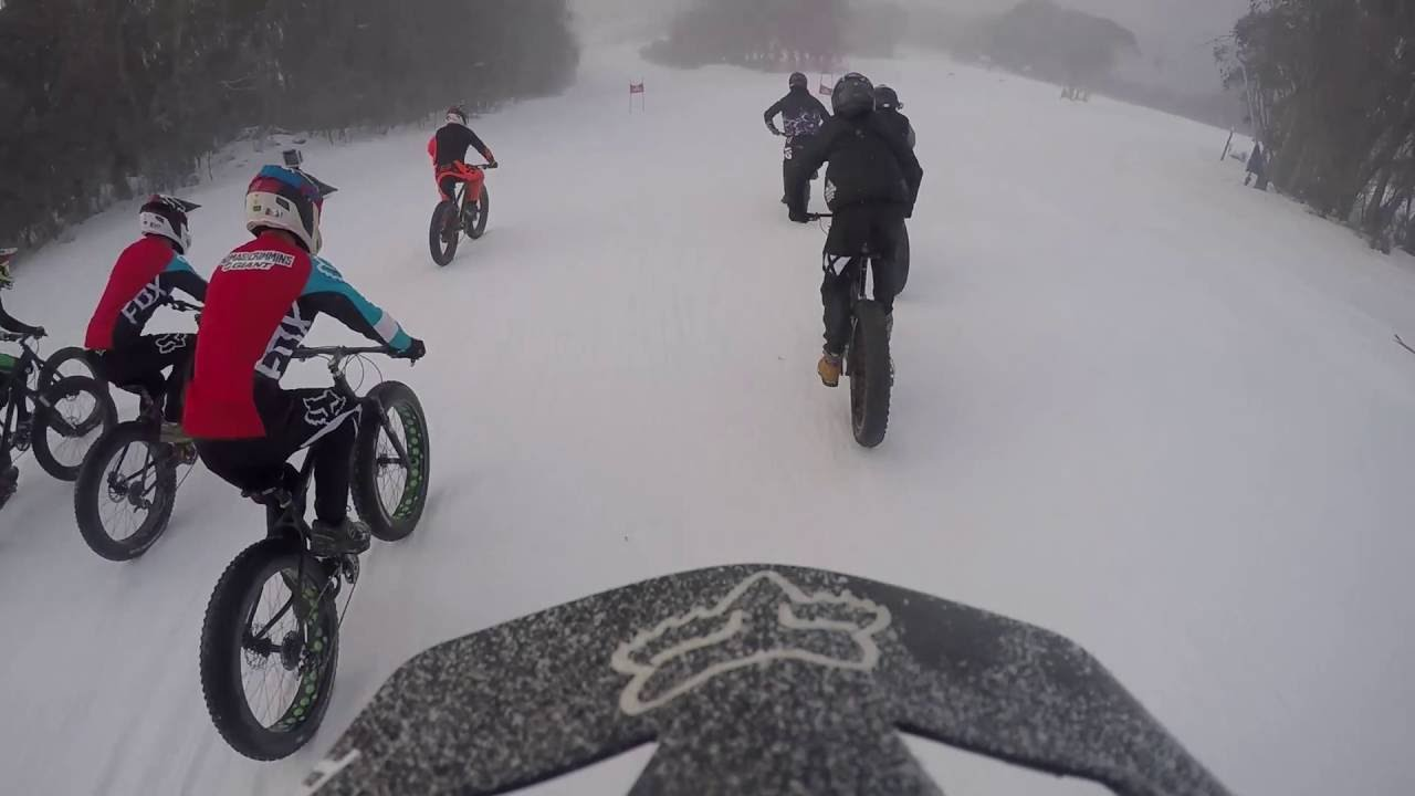 Thredbo Fat Bikes Top 2 Bottom 2016