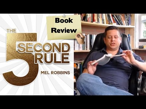 📚📚 The 5 Second Rule Mel Robbins #5secondrule Honest Book Overview Review