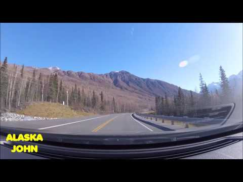 ALASKA DRIVING - Eagle River Valley - October 7th 2016