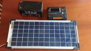 Impianto fotovoltaico economico offgrid