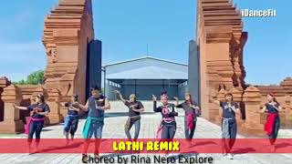 Download lagu Lathi Remix Joged Fitness | Zumba Workout | iDanceFit TV