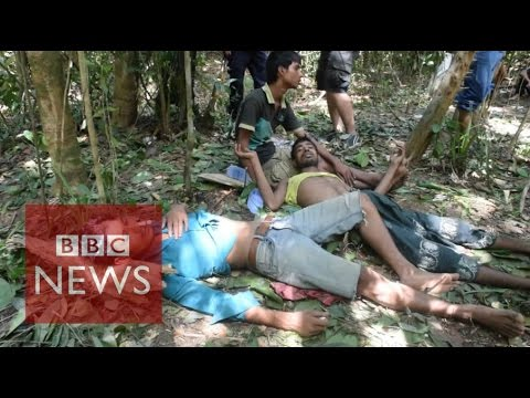 Thailand's human trafficking trade - BBC News