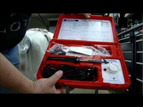 Welding Repairing Plastic Parts
