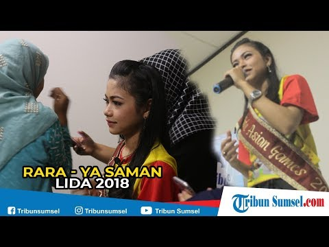 Rara LIDA Indonesia Nyayikan Lagu Daerah Palembang Ya Saman...